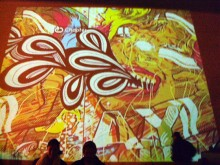 """iLLmotion"" Projected Animations"